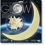 Luna y Estrellas que Brillan en la Oscuridad 4M