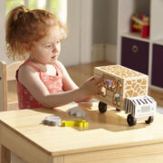 CAMION DE RESCATE DE ANIMALES DE SAFARI MELISSA AND DOUG