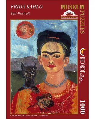 Rompecabezas: Autorretrato De Frida Kahlo – RICORDI