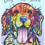 Rompecabezas: El Perro es Amor de Dean Russo – PINTOO