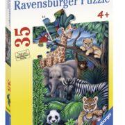 ROMPECABEZAS DE 35 PIEZAS REINO ANIMAL - RAVENSBURGER