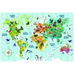Rompecabezas Gigante del Mapa Mundial – Novelty