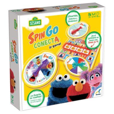 SPIN GO CONECTA Y GANA - 123 SESAMO NOVELTY