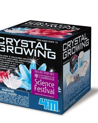 Juego de crecimiento de Cristales – 4M