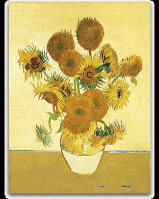 Rompecabezas: Girasoles de Van Gogh – PINTOO