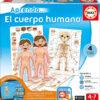 APRENDO EL CUERPO HUMANO - EDUCA