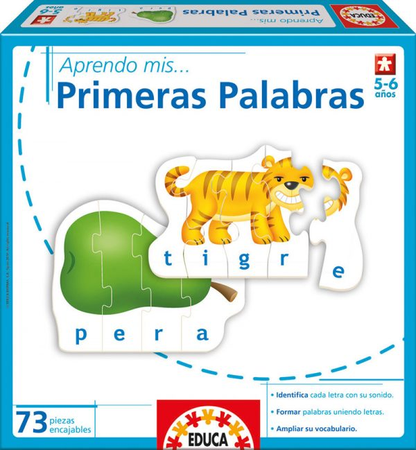 APRENDO MIS PRIMERAS PALABRAS - EDUCA