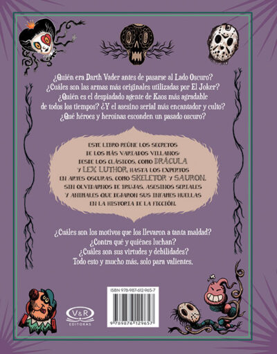 EL LIBRO DE LOS VILLANOS - V&R EDITORAS