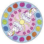 Mini Mandalas de Unicornio – Ravensburger