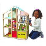 Casa de Muñecas de Madera Hi-Rise – Melissa And Doug