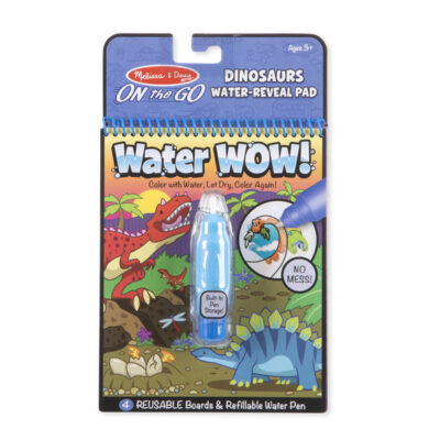 PINTA CON AGUA (WATER WOW) DINOSAURIOS - MELISSA AND DOUG