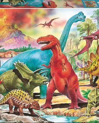 Rompecabezas de Dinosaurios (100 Piezas) – Educa