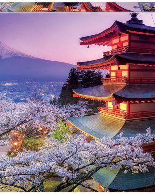 Rompecabezas del Monte Fuji (Japón) de 2000 Piezas – Educa