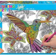 Rompecabezas Para Colorear de Colibrí (Colouring) – Educa
