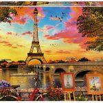 Rompecabezas de Puesta de Sol en París (3000 Piezas) – Educa