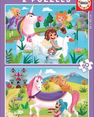 Rompecabezas de Unicornios y Hadas (40 Piezas) – Educa