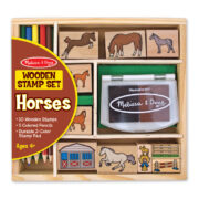 SELLOS CON FIGURAS DE CABALLOS - MELISSA AND DOUG