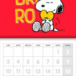 Calendario de Snoopy 2020 – V&R Editoras