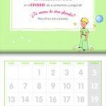 Calendario: El Principito 2020 – V&R Editoras