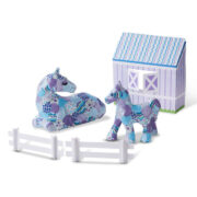 DECORA TU PROPIO CABALLO Y PONY - MELISSA AND DOUG