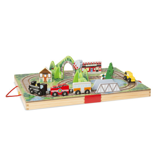 FERROCARRIL PORTÁTIL - MELISSA AND DOUG
