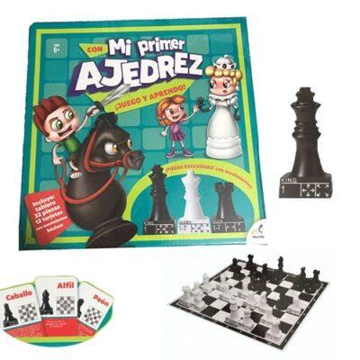 MI PRIMER AJEDREZ (JUEGO Y APRENDO) - NOVELTY