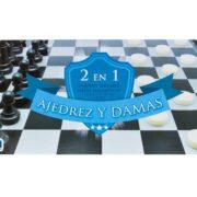 SET DE JUEGOS 2 EN 1 (AJEDREZ Y DAMAS) - NOVELTY