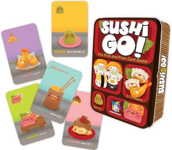 SUSHI GO (JUEGO DE CARTAS) - GAMEWRIGHT