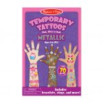 Tatuajes Temporales Metálicos – Melissa And Doug