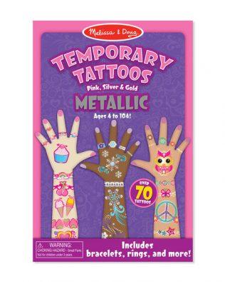 Tatuajes Temporales Metálicos – Melissa And Doug