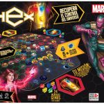 Juego de Mesa Marvel HEX – Novelty