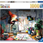 Rompecabezas: Escritorio del Artista de Disney (1000 Piezas) – Ravensburger