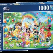 Rompecabezas: La Fiesta de Mickey (1000 Piezas) – Ravensburger