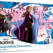 Rompecabezas Panoramico 3 en 1 de Frozen 2 – Novelty