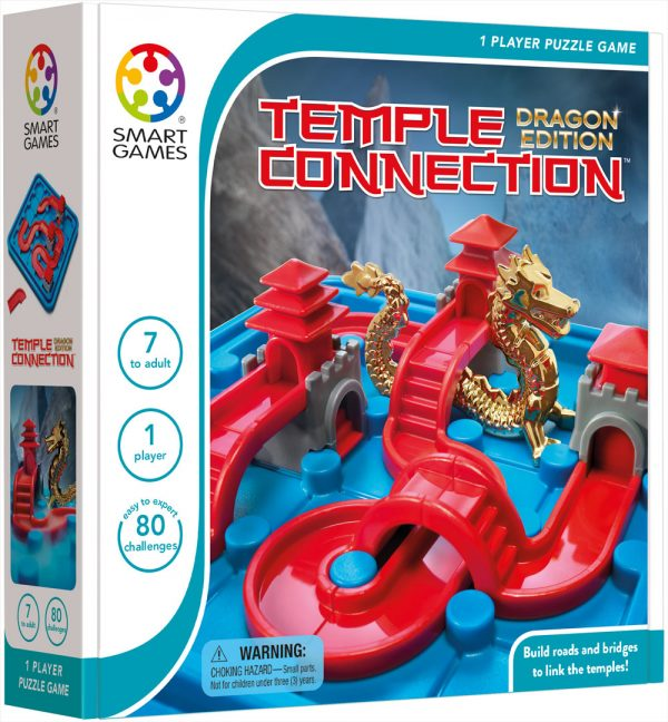 TEMPLE CONNECTION DRAGON EDITION ( JUEGO DE LÓGICA) - SMART GAMES