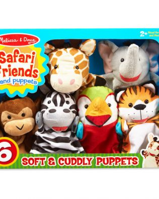 Títeres de Amigos del Safari – Melissa And Doug
