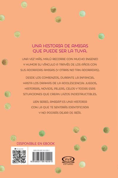 ¡EN SERIO, AMIGA! - V&R EDITORAS