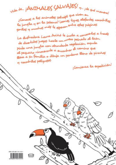 VIDA DE ANIMALES SALVAJES - V&R EDITORAS