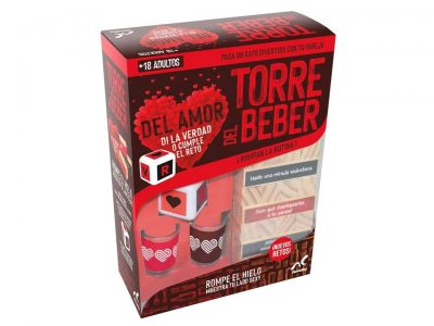 TORRE DE BEBER DEL AMOR (VERDAD O RETO) - NOVELTY