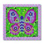 Mosaicos por Número (Mariposa) – Melissa And Doug