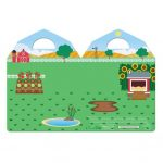 Bloc de stickers Reutilizables Esponjosos de la Granja – Melissa And Doug