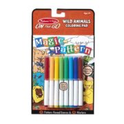 BLOC PARA COLOREAR DE ANIMALES SALVAJES - MELISSA AND DOUG