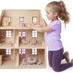 Casa de Muñecas de Madera Color Rosa – Melissa And Doug