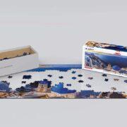 ROMPECABEZAS 360 GRADOS DE 1000 PIEZAS DE SANTORINI GREECE - EUROGRAPHICS