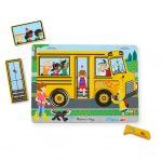Rompecabezas con Sonido: Las Ruedas del Autobús (6 Piezas) – Melissa And Doug
