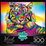 Rompecabezas: Tigre de Colores (300 Piezas) – Buffalo