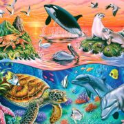 ROMPECABEZAS DE 100 PIEZAS ARMONÍA OCEÁNICA - RAVENSBURGER