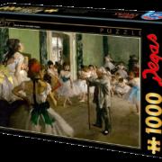 ROMPECABEZAS DE 1000 PIEZAS DE EL EXAMEN DE DANZA DE EDGAR DEGAS - D TOYS
