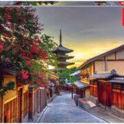 ROMPECABEZAS DE 1000 PIEZAS DE PAGODA YASAKA EN KIOTO JAPÓN - EDUCA