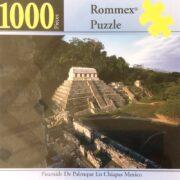 ROMPECABEZAS DE 1000 PIEZAS DE PIRÁMIDE DE PALENQUE EN CHIAPAS - ROMMEX